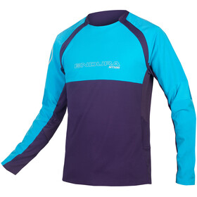 Endura MT500 Burner II LS Jersey Men electric blue